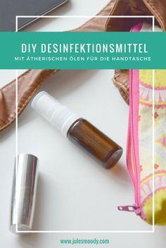 Diy Desinfektionsmittel Mit Atherischen Olen Fur Die Handtasche
