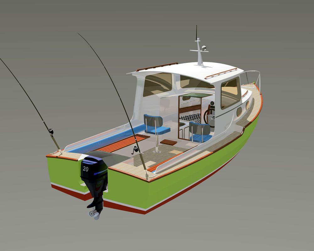 Проект для самостоятельной постройки лодки