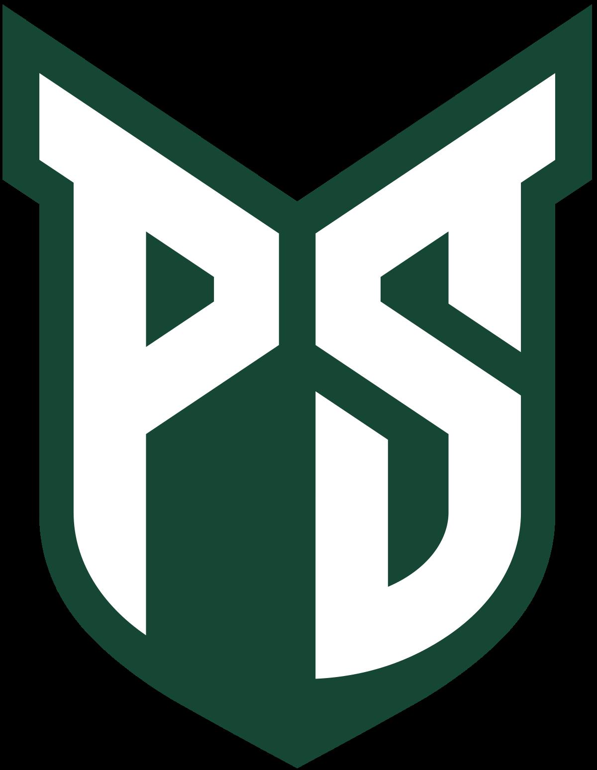 Pin By Patrick V On College Logo S Portland State University Columbus State University Central Michigan University