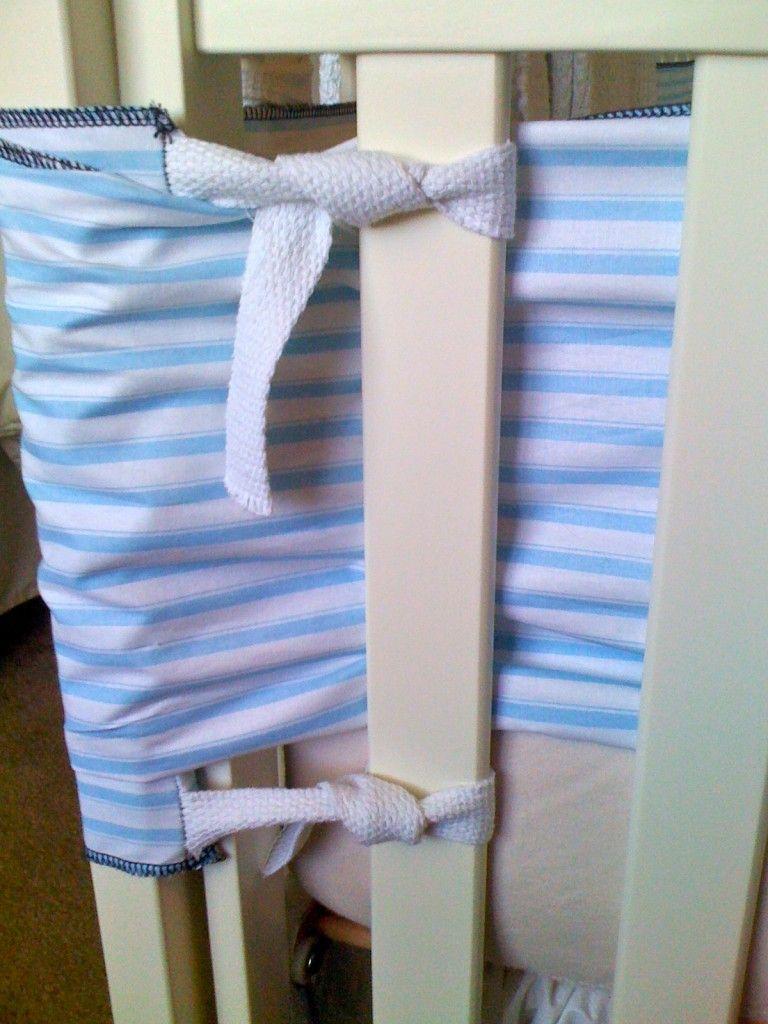 DIY crib bumper Diy crib, Crib bumper, Crib liners