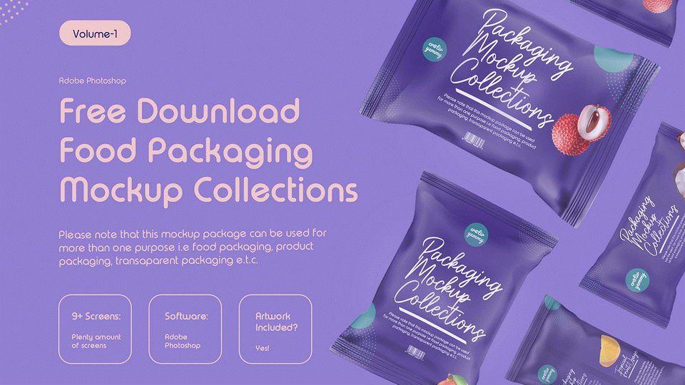 10 Free Packaging Mockups Pinspiry Packaging Mockup Free Packaging Mockup Food Packaging