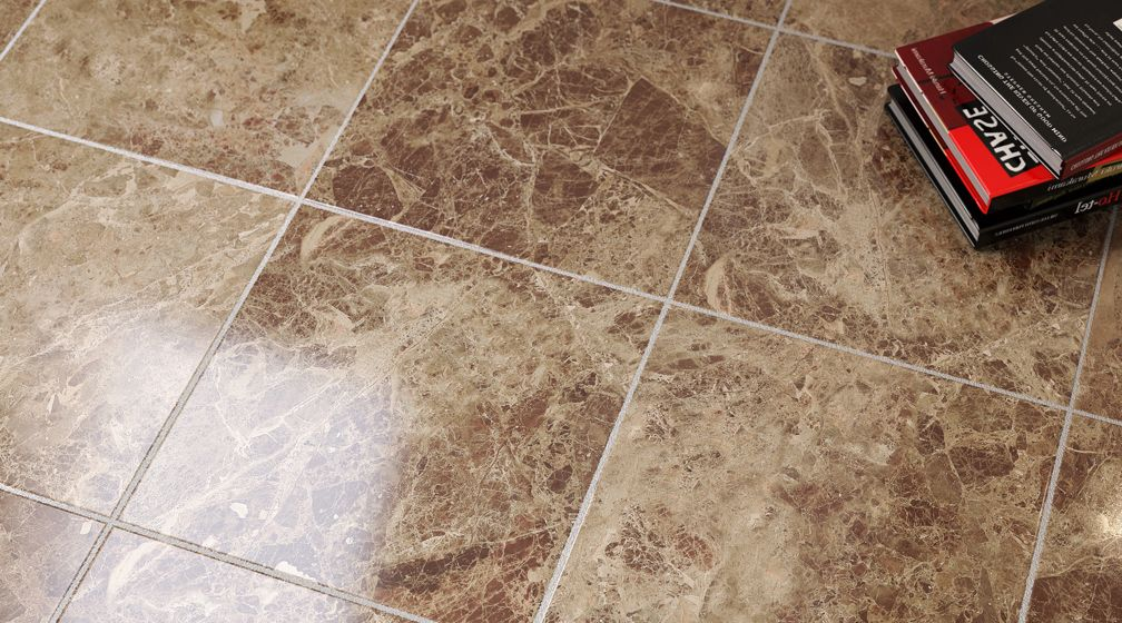The Emperor Tan Marble Effect Bathroom Tile Is A Coffee Cream Brown With Dense Patches Of Tan Blue Small Bathrooms Luxury Bathroom Master Baths Marble Bathroom