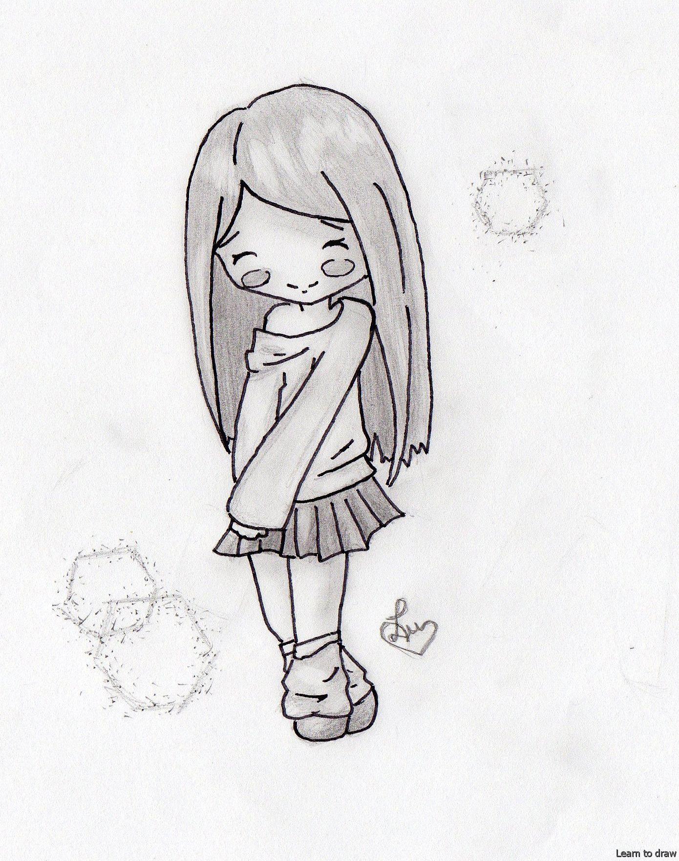 Simple Pencil Drawings Easy Pencil Drawings In 2020 Pencil Drawings Easy Easy Drawings Anime Sketch