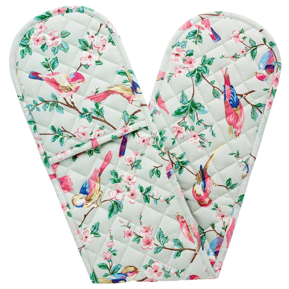 British Birds Double Oven Glove | Home for Christmas | CathKidston