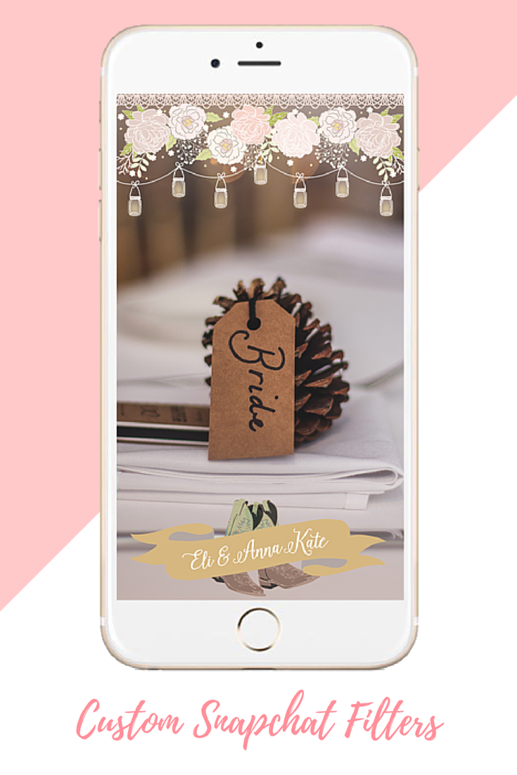 Custom Snapchat Wedding Filter Snapchat Geofilters Snapchat Filter Design Custom Snapchat