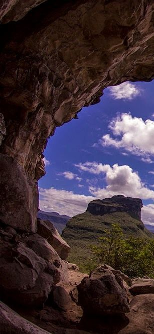 Parque Nacional Da Chapada Diamantina Estado Da Bahia Brasil