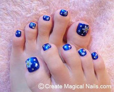 Winter-Toe-Nail-Art-Designs-Ideas-For-Girls- - Winter-Toe-Nail-Art-Designs-Ideas-For-Girls-2013-2014-2.jpg 400