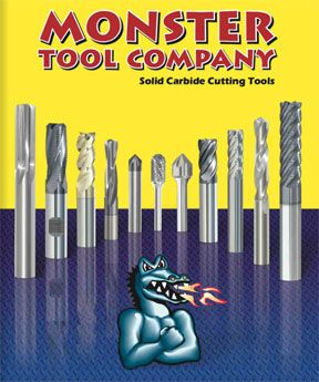 Monster Tool Company Catalog   CNCPros Tooling & Machine