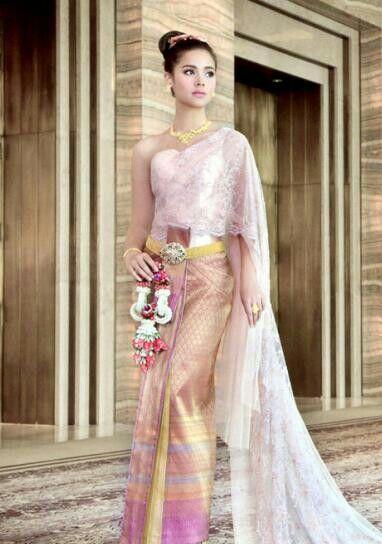 Pin von Logeswary Lavinia auf thai costume | Pinterest