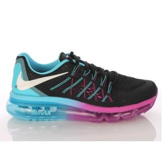 Women S Nike Air Max Running Shoes Black Blue Purple 534 Nike Kadin Nike Air Max Ayakkabilar