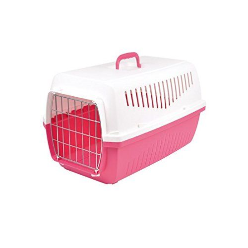 58c9b71445 Marchioro Skipper 2 °F 0200054 Transport Box, White/Pink >>> You can get  additional details at the image link. #CatCagesCratesandCarriers