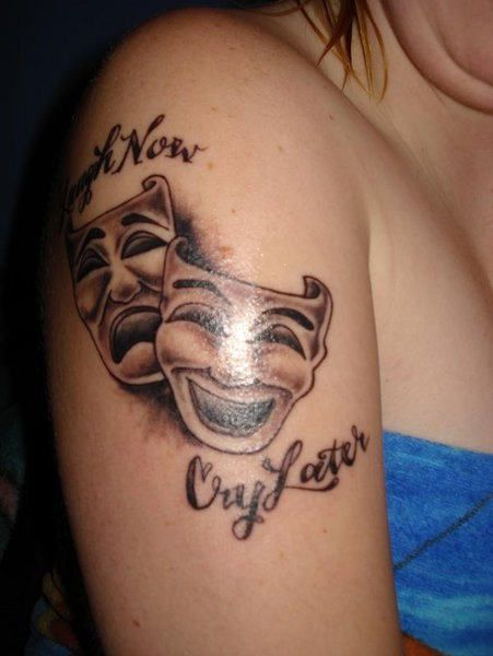 smile now cry later tattoo - Google Search | Tattoos ...