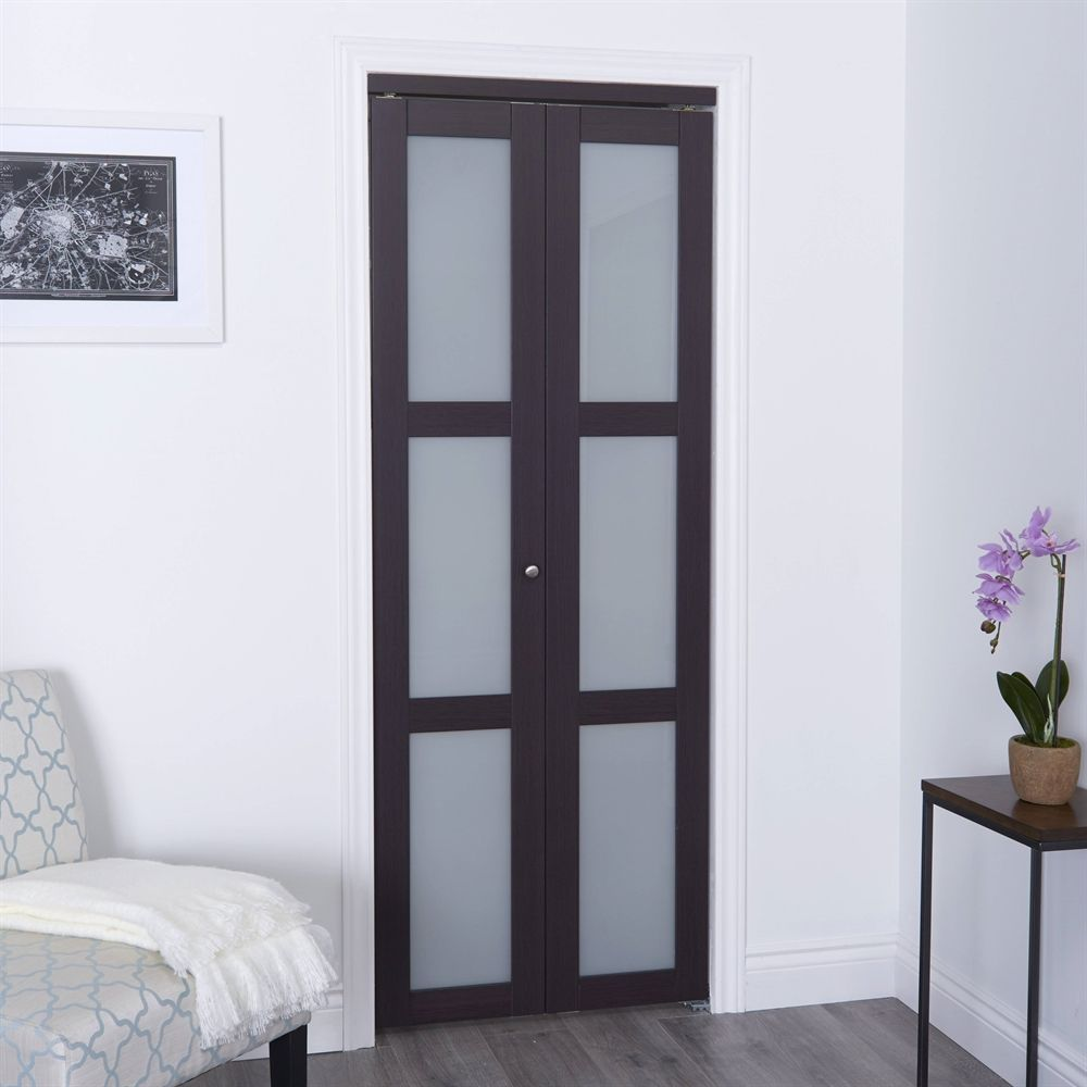 Reliabilt 24 In X 80 In Off White Frosted Glass Closet Door Glass Closet Frosted Glass Closet Doors Glass Closet Doors