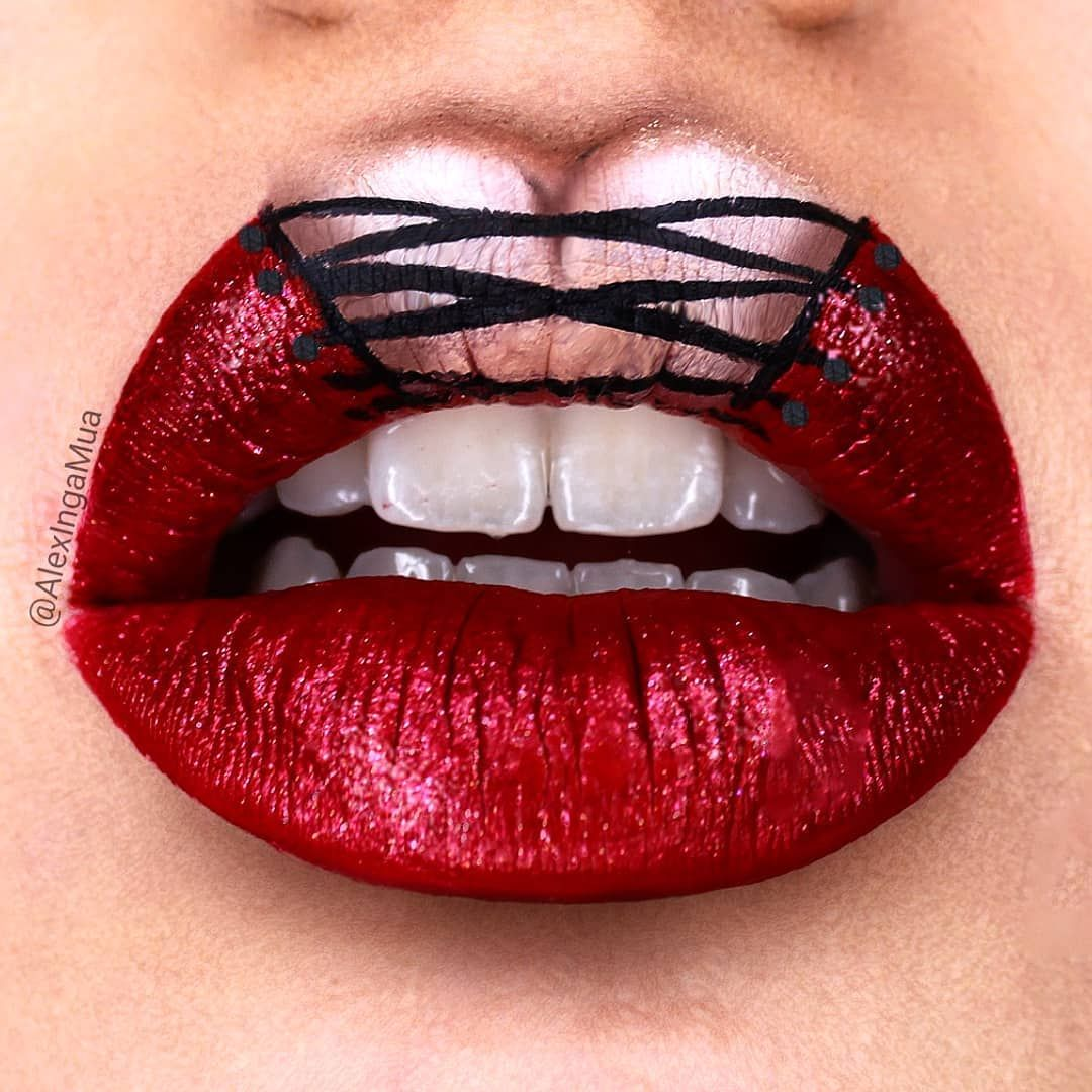 Pin By Amy Lynn On Beauty Lipstick Art Lip Art