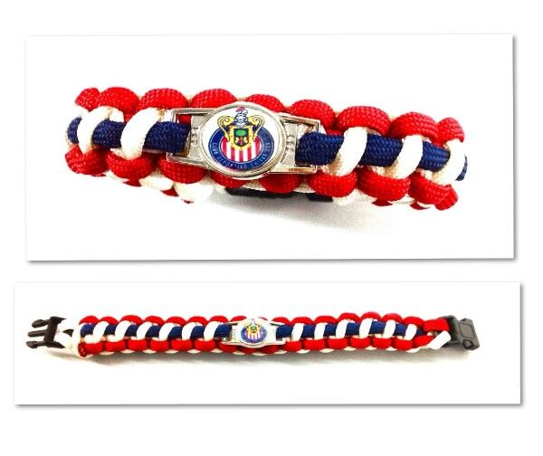 Paracord Bracelets Chivas De Guadalajara!!
