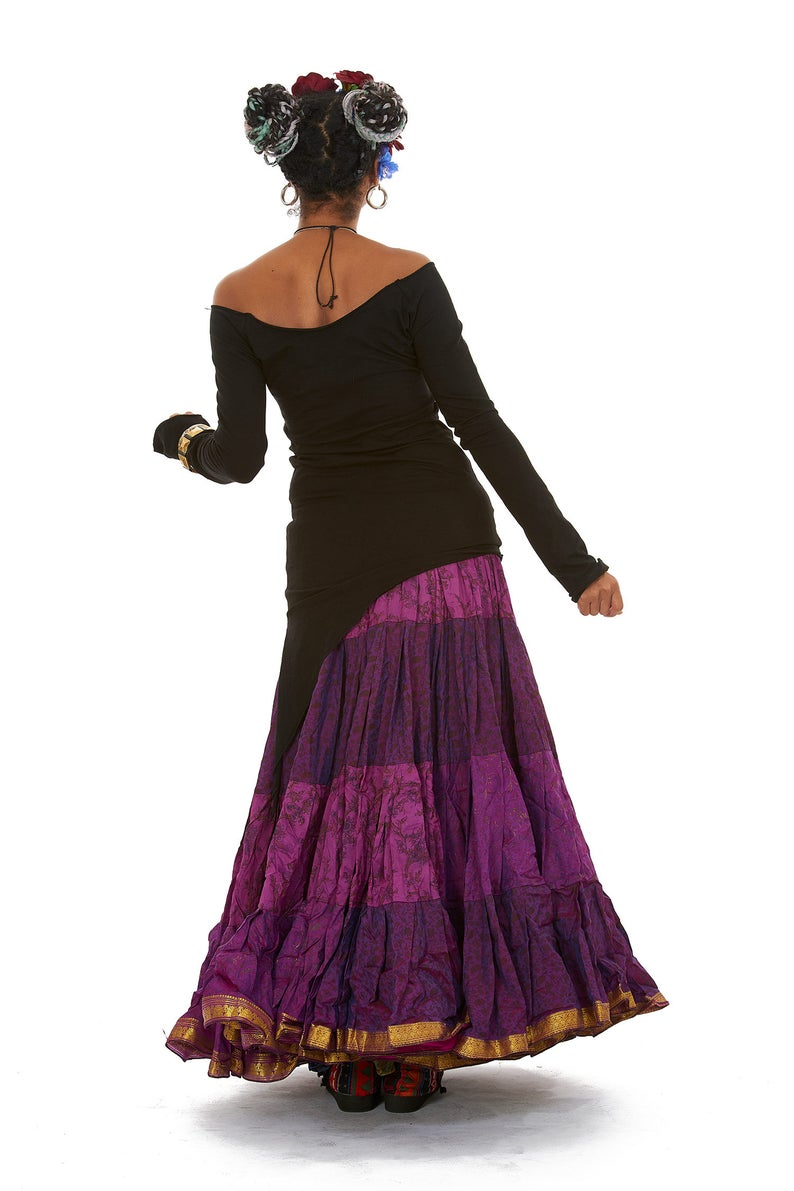 Knitted Short Dress with Hoodie~Earthy Alternative clothing~Goa Psy trance Wear Clothing~Goa Festival~Gypsy Hippie Tribal Clothing~YamunaArt