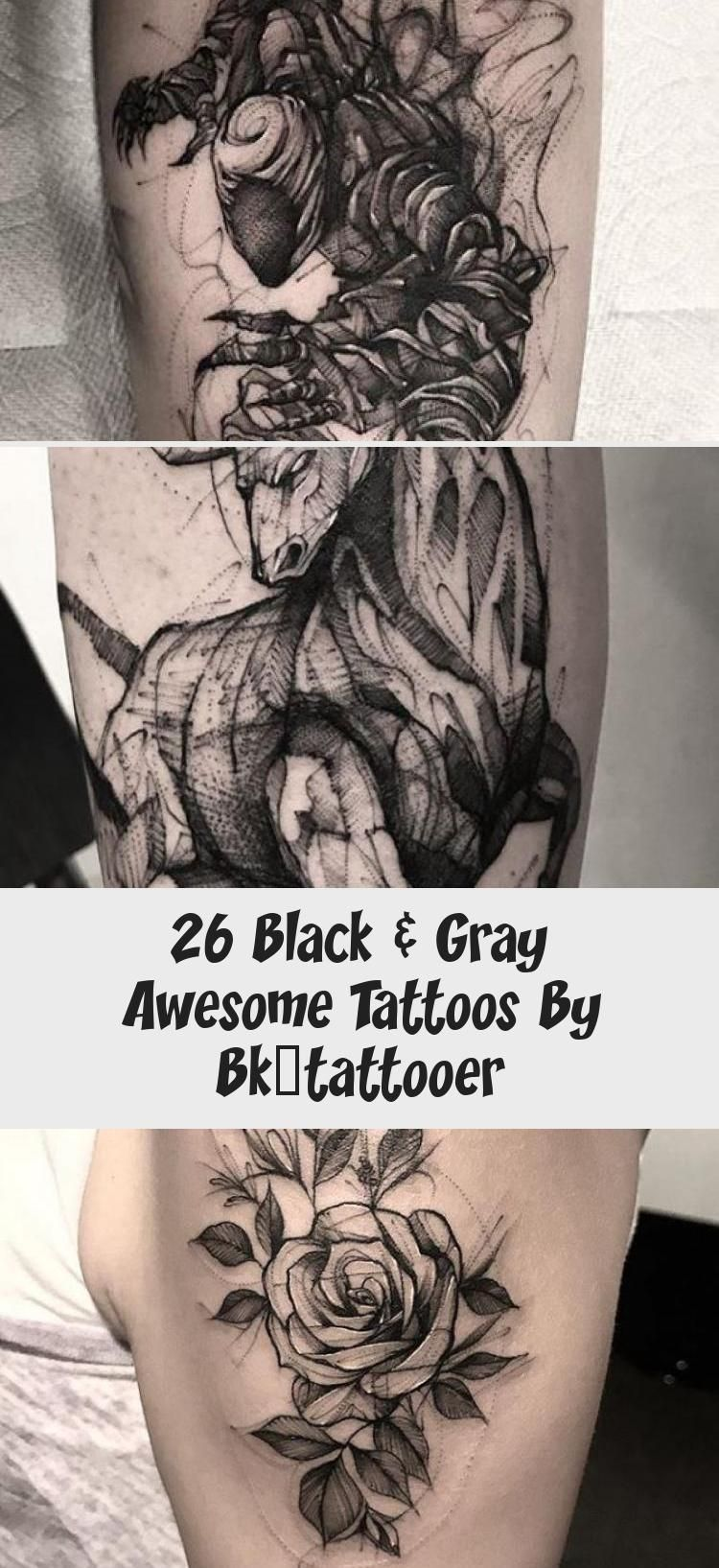 26 Black Gray Awesome Tattoos By Bk Tattooer Blacktattoopontilhismo Blacktat 26 Black Gray Awes Outer Forearm Tattoo Cool Tattoos All Black Tattoos