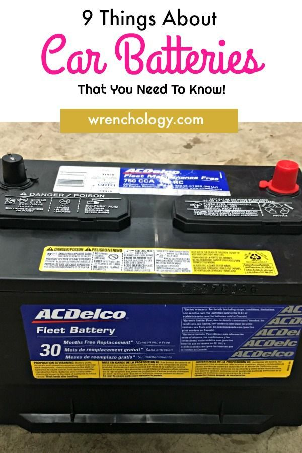 Learn About How Car Batteries Work 9 Things About Car Batteries That You Need To Know For Winter Car Batteries Car Battery Car