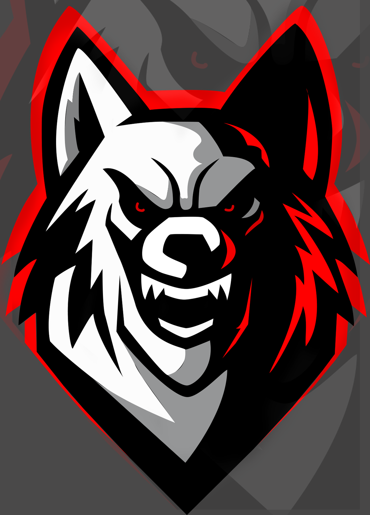 Logotipo Esport Wolf/Lobo, on Behance in 2020 Photo