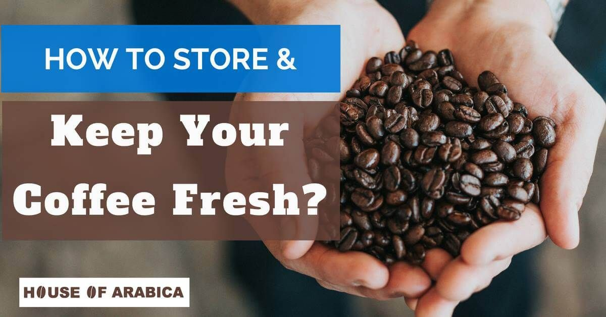 How To Store Coffee Beans? Fresh ground coffee, Coffee