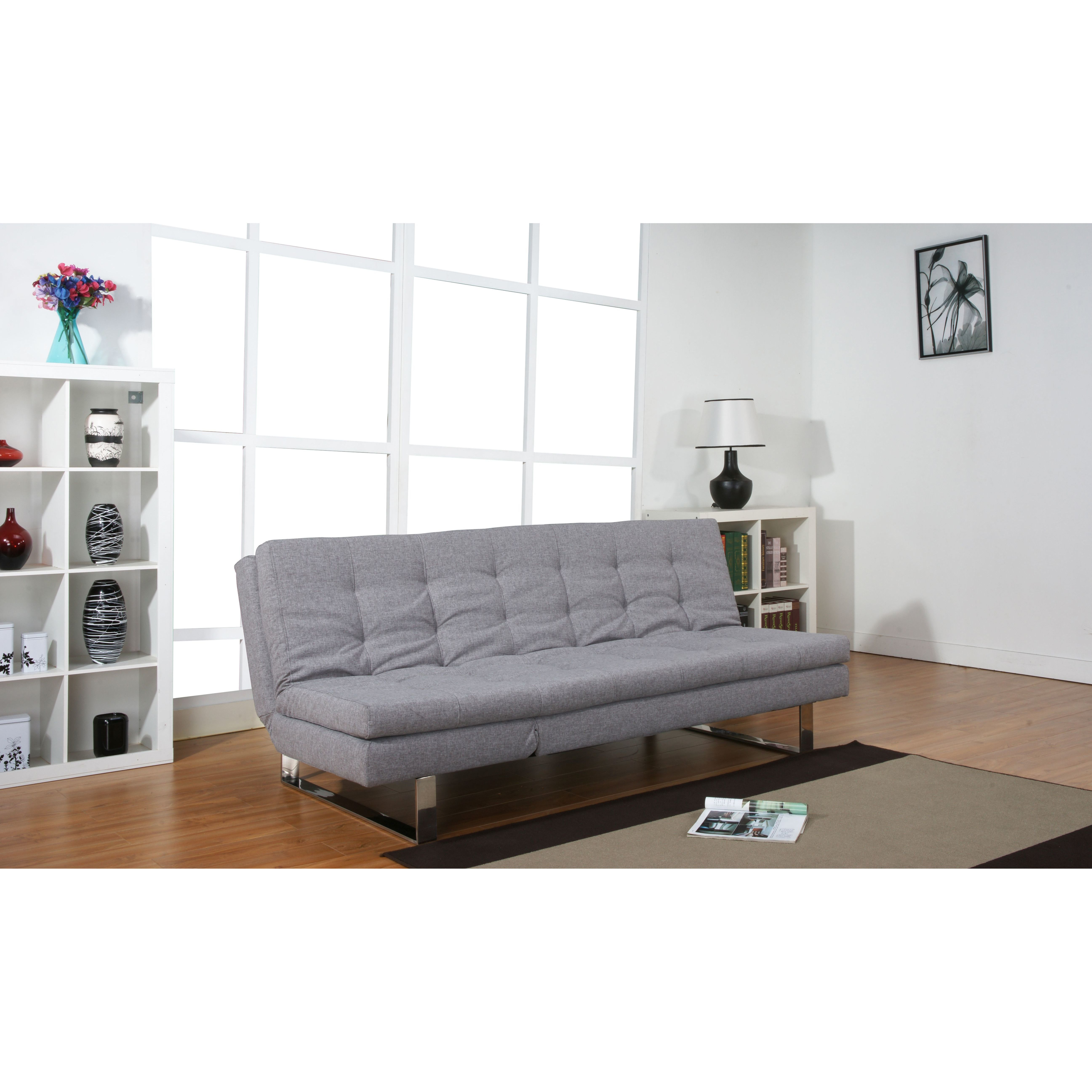 Leader Lifestyle Milano 3 Seater Clic Clac Sofa Bed Reviews Wayfair Co