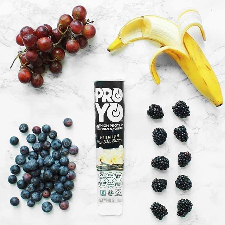 Unjunk your food! Keep it healthy with #ProYo and of course your favorite fruits!