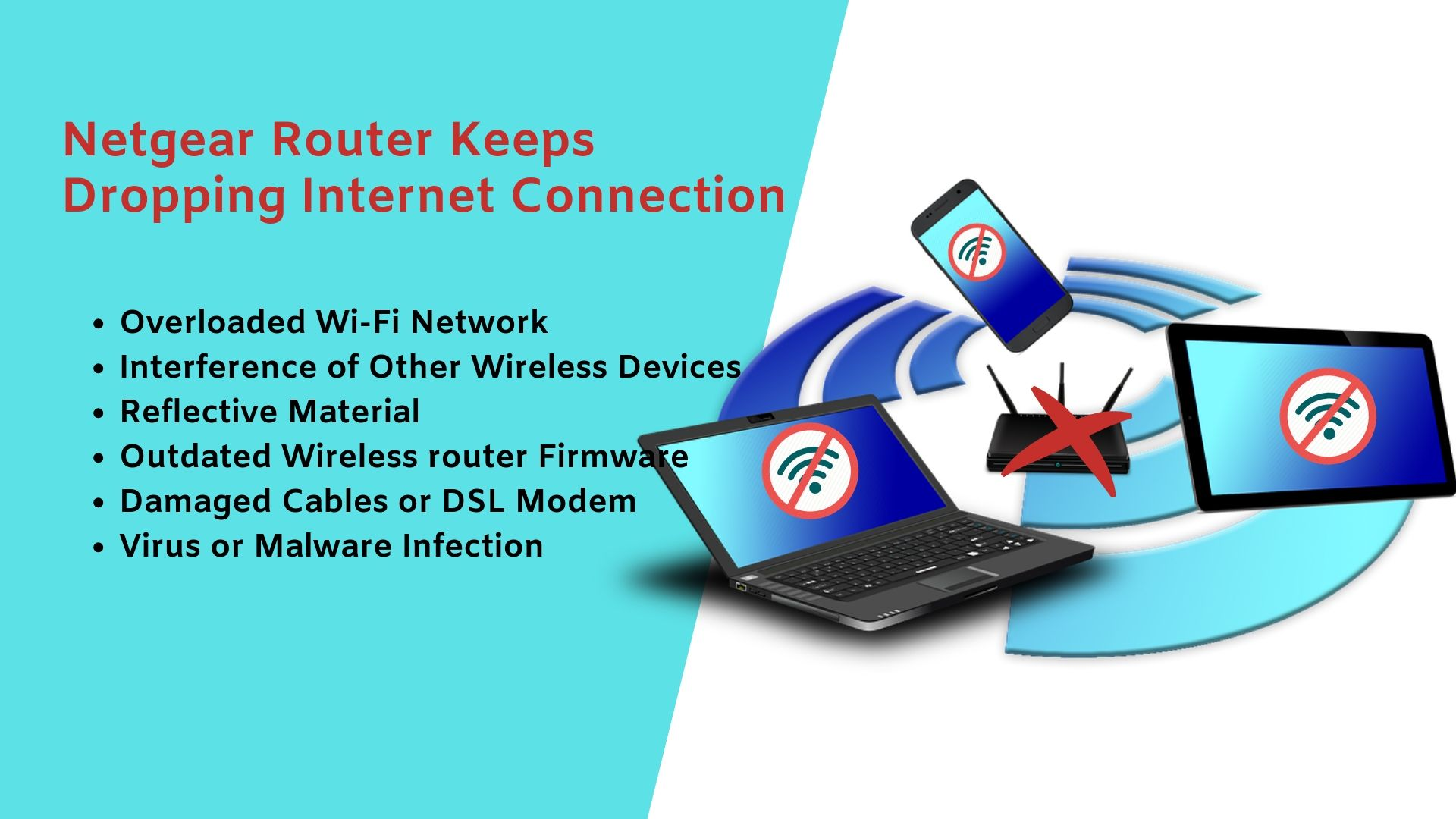 Netgear Router Drops Wifi Connection - Issue Resolved