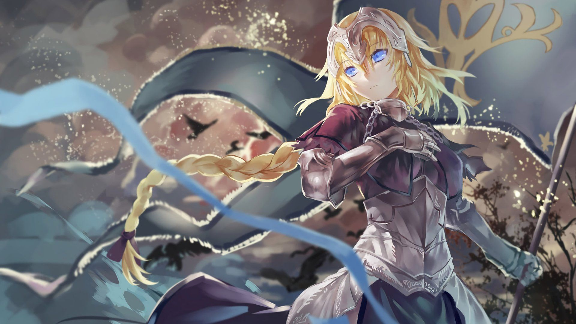 Anime Fate Grand Order Jeanne D Arc Wallpaper Anime Fate Apocrypha Ruler Anime Characters