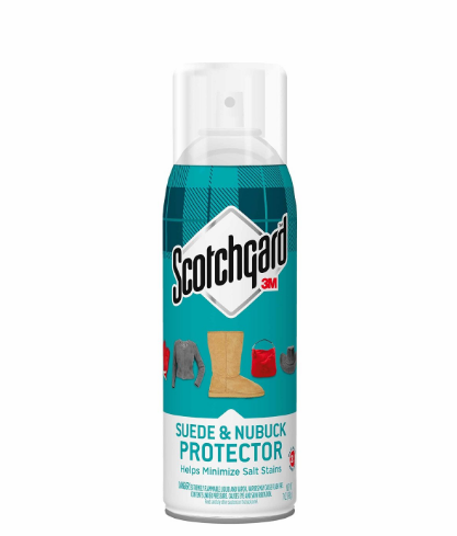 Coat Your Suede Shoes And Clothes With A Waterproofing Spray That Also Reduces Salt Stains Leather Protector Scotchgard Suede