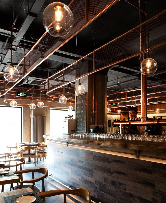 Dongli Brewery By Latitude Studio Brewery Interior Brewery