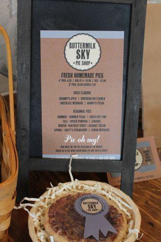 Buttermilk Sky Pie Shop New Sweet Spot In Bearden Buttermilk Sky Pie Shop Buttermilk Sky Pie Pie Shop