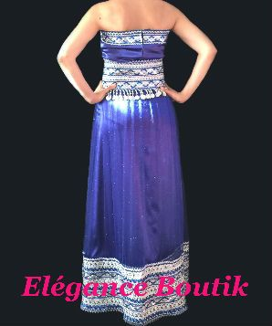 Les robe kabyle bleu
