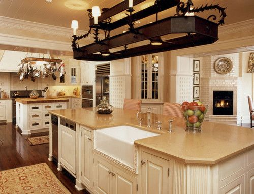 We have mahogany floors - looking for colour inspiration for kitchen cabinents/benchtops.