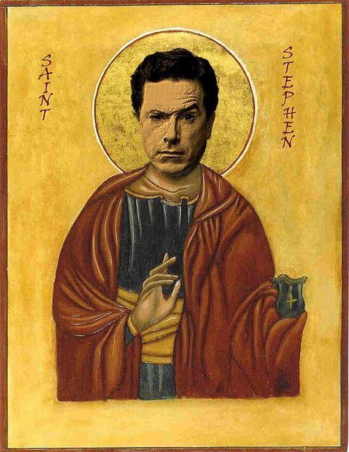 Saint Stephen.