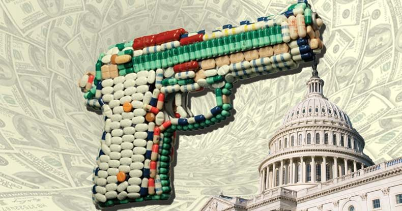 Pharmaceutical giants willfully and with the blessing of the federal government break laws to maximize profits.