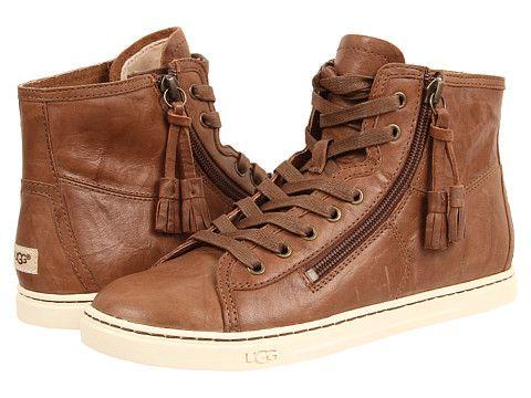 1134c10e7c6 UGG Blaney Dark Chestnut Leather - Zappos.com Free Shipping BOTH ...