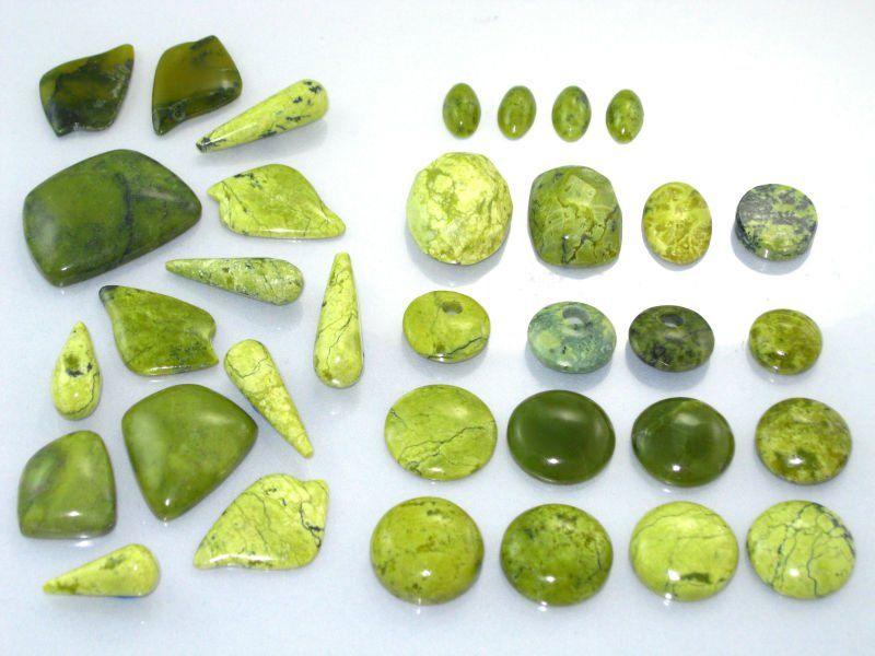 Piedra preciosa Serpentina