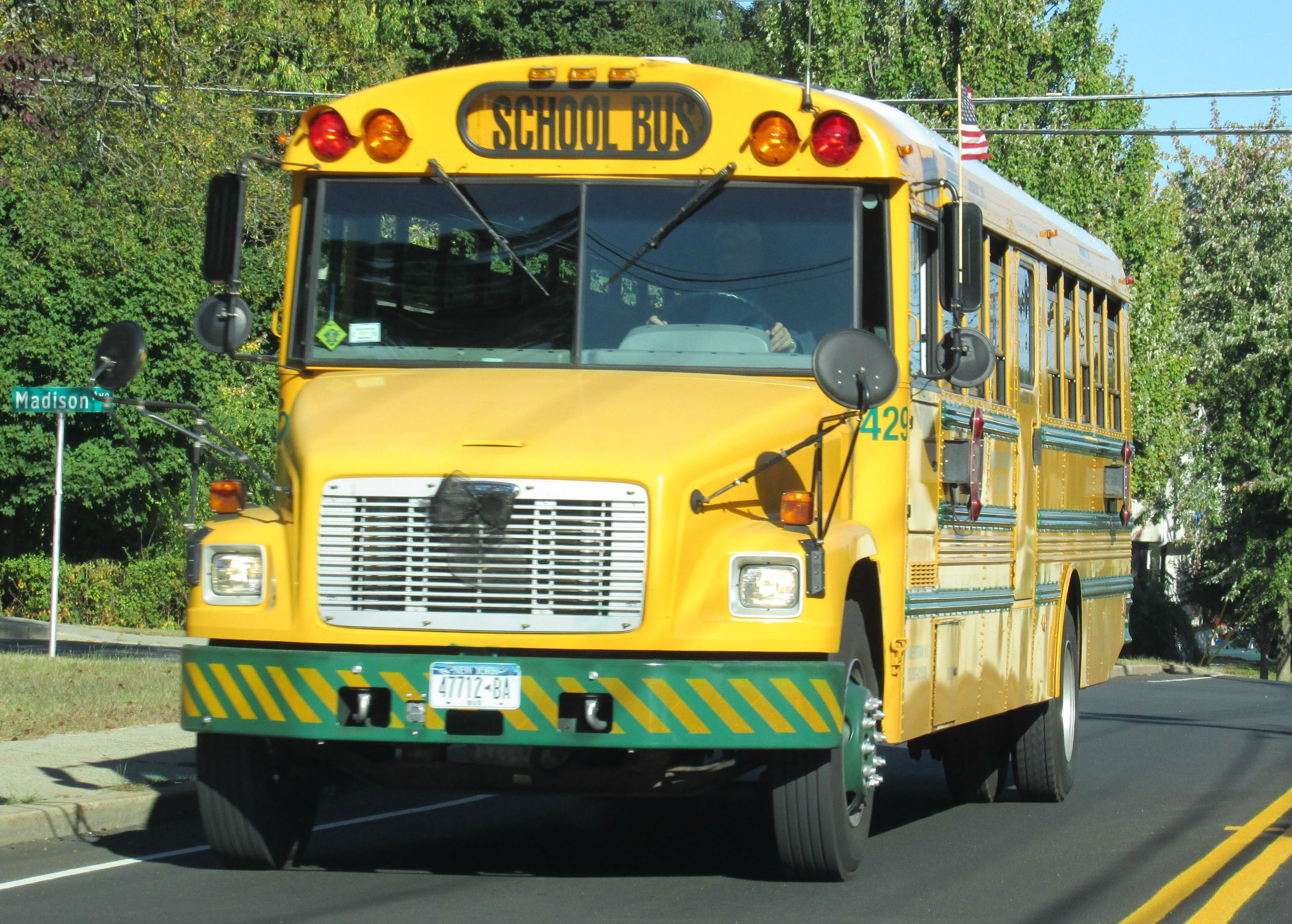 haverstraw transit school bus #429 | haverstraw transit | pinterest