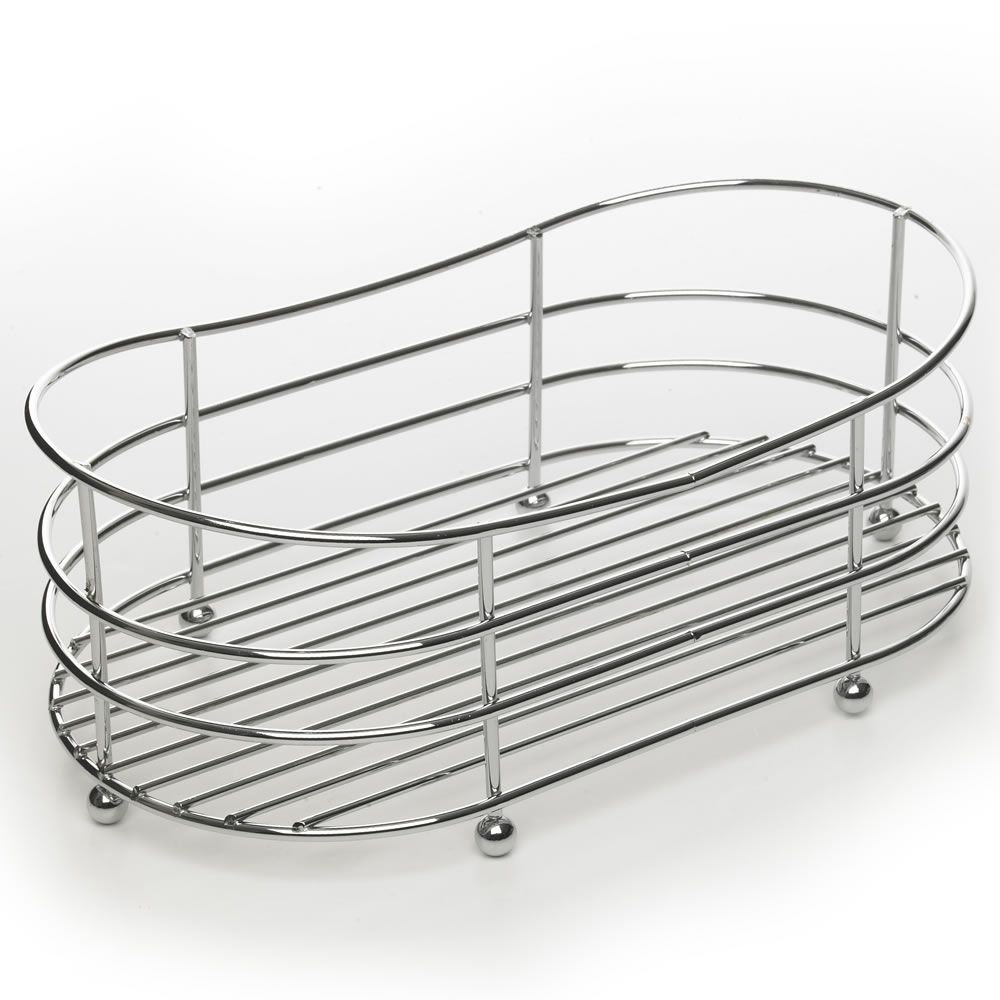 Wilko Bathroom Cabinet Wilko Bath Caddy Oval Chrome Effect Just At Alb 250 Home
