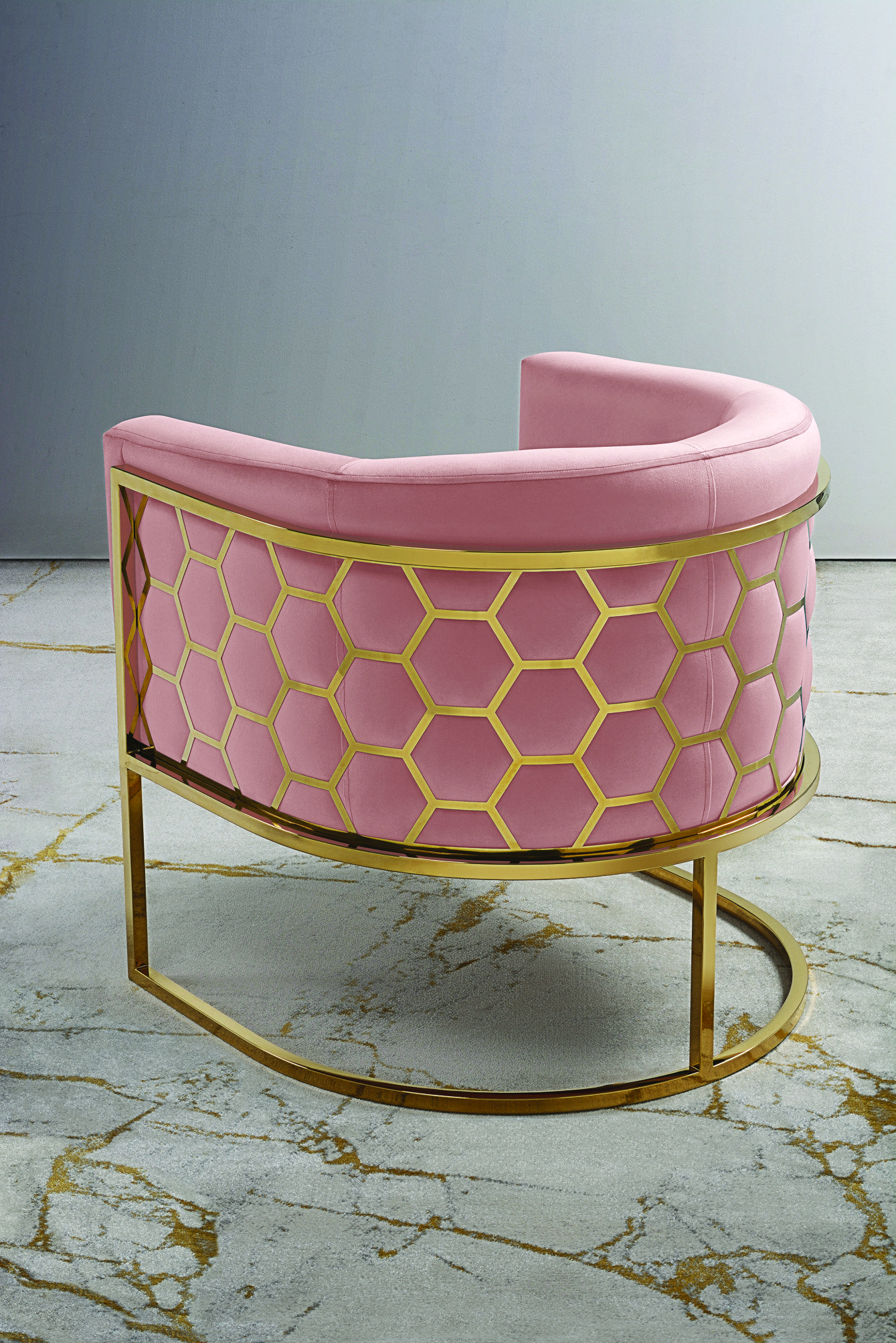 12 Reasons To Love The Ongoing Geometric Trend is part of Rose gold furniture - There's something rather wonderful about introducing geometric pattern to our homes with its interlocking tessellating shapes  A sense of harmony and rhythm is achieved whilst being visually stimulating  And like the floral trend, geometric patterns have never really gone out of fashion  From the