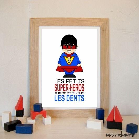 rgles enfants tableau cadre affiche salle de bain dcoration fichier - Cadre Salle De Bain