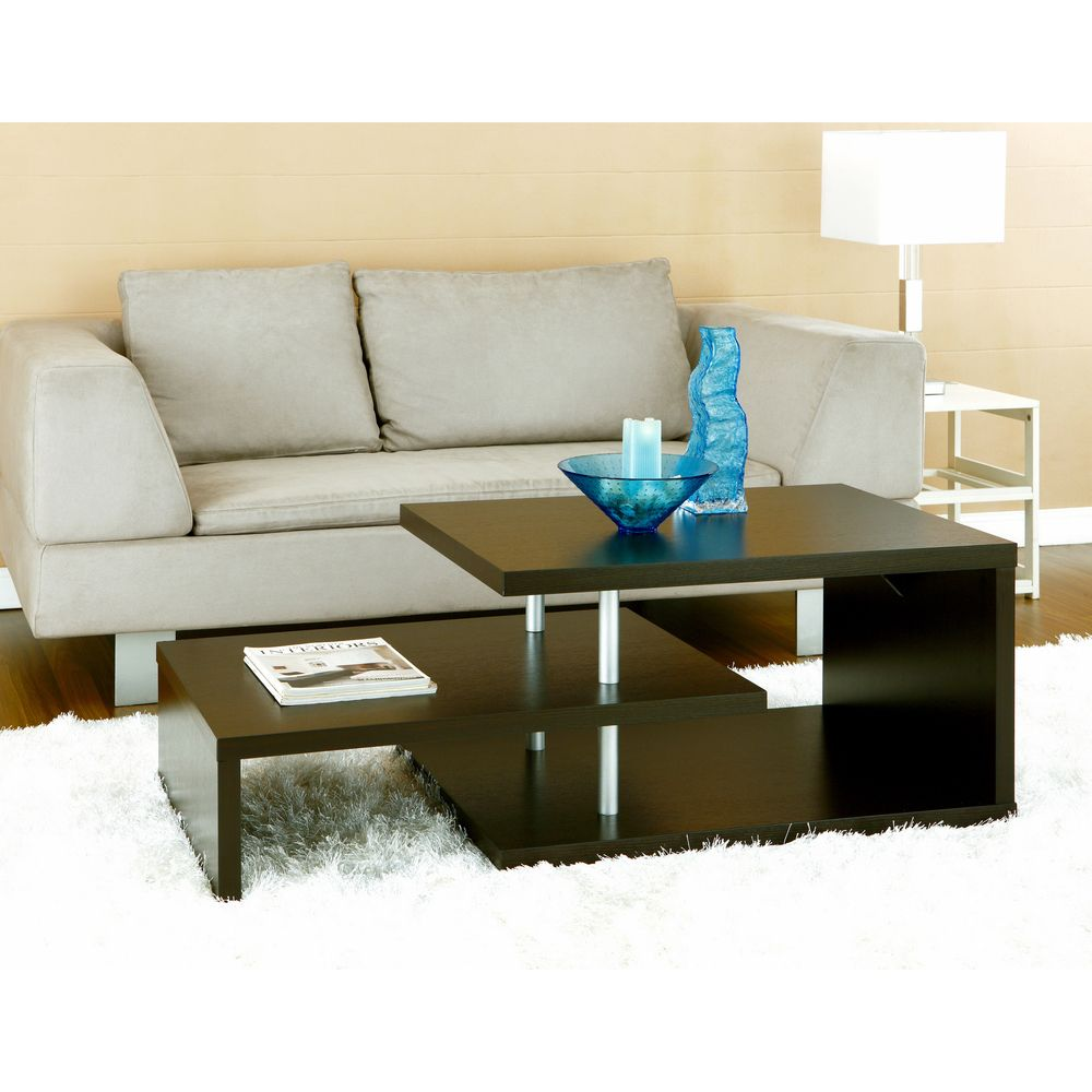 Furniture Of America Modern Multi Leveled Coffee Table   Overstock™  Shopping   Great Deals