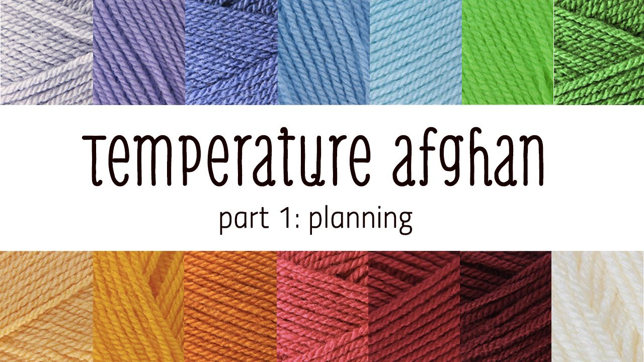 Tips for your very own temperature afghan/blanket