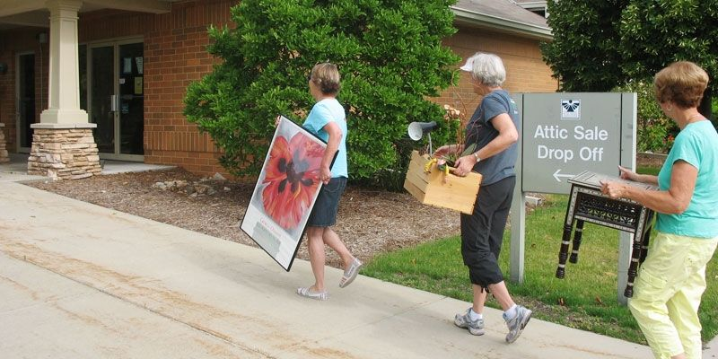 The Attic Sale Has Been Part Of The Madison Culture For More Than Half A Century Held Each June In A Large Community Venue The Attic Attic Community Culture