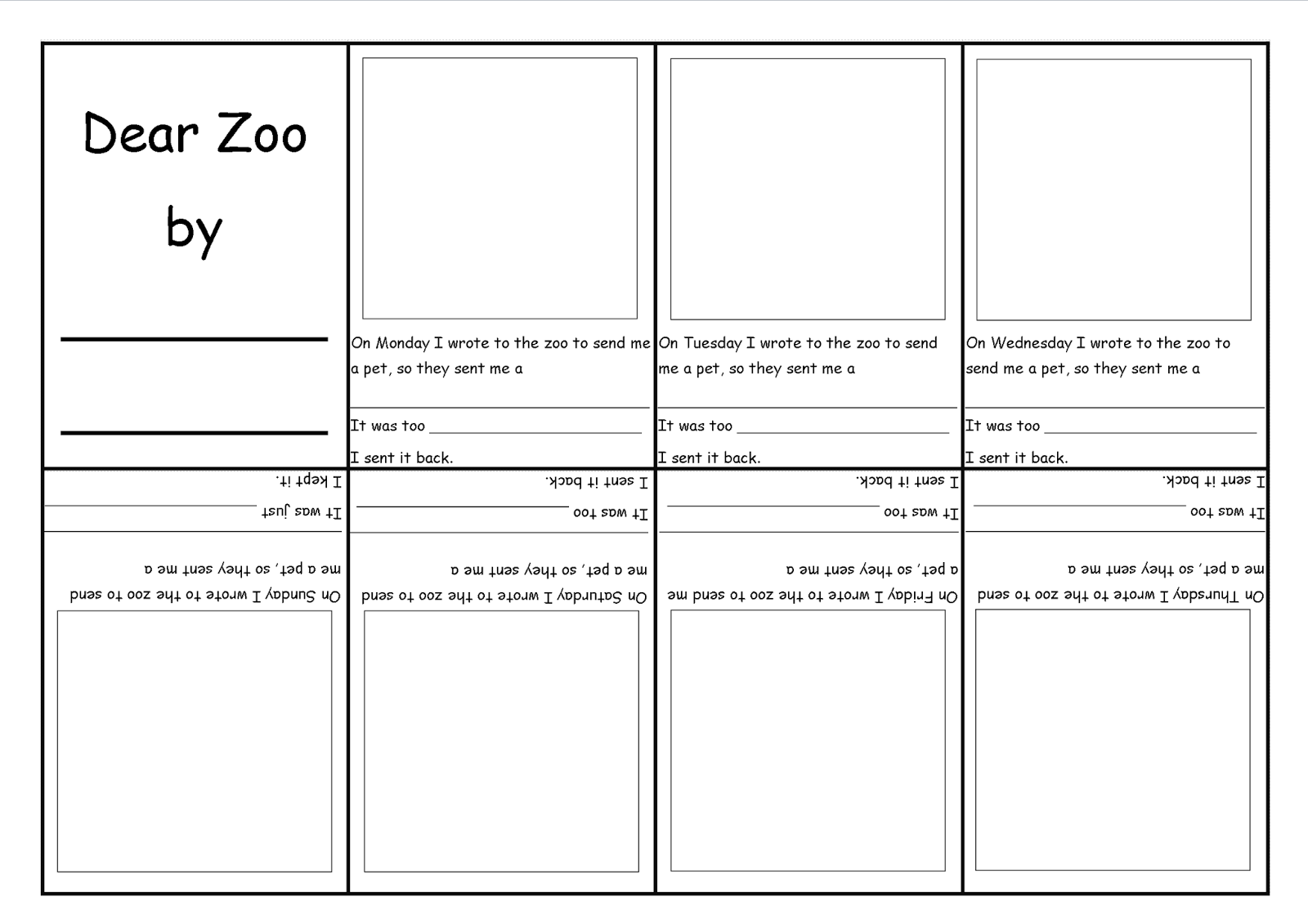 worksheet Dear Zoo Worksheet play learn and grow together dear zoo pinterest zoo