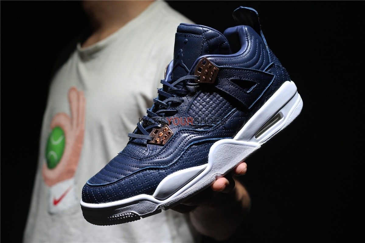 Air Jordan 4 Retro PRM  Obsidian  819139 402 Look my BIO link to get the  real hot shoes   lower price easily. website  www.kicksyourshoes.com (link  in my ... 77110881d