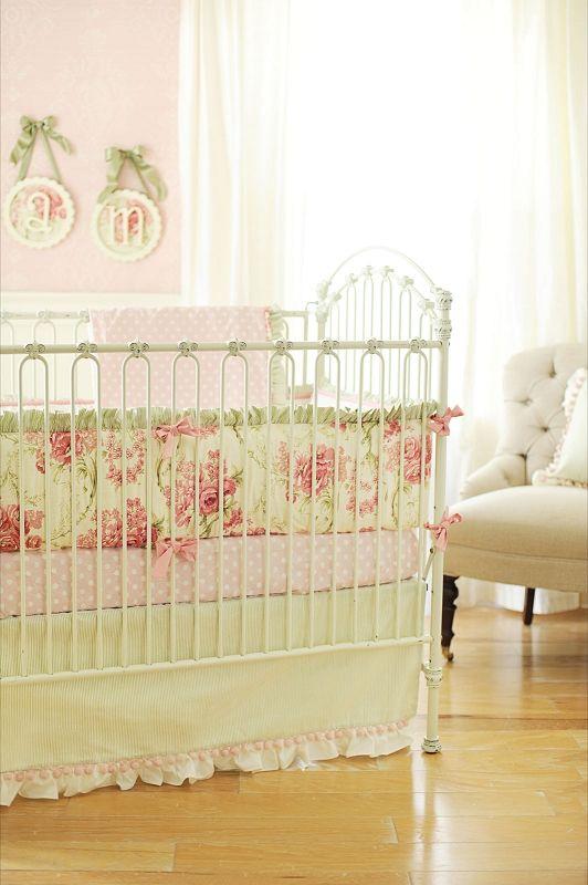 Roses For Bella Blanket Crib Bedding Girl Baby Girl Crib Bedding Baby Crib Bedding