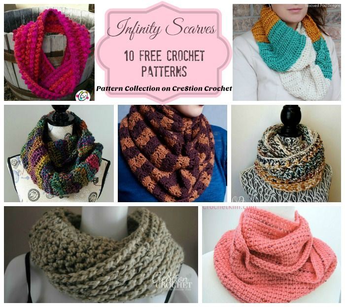 Infinity Scarves Pattern Collection