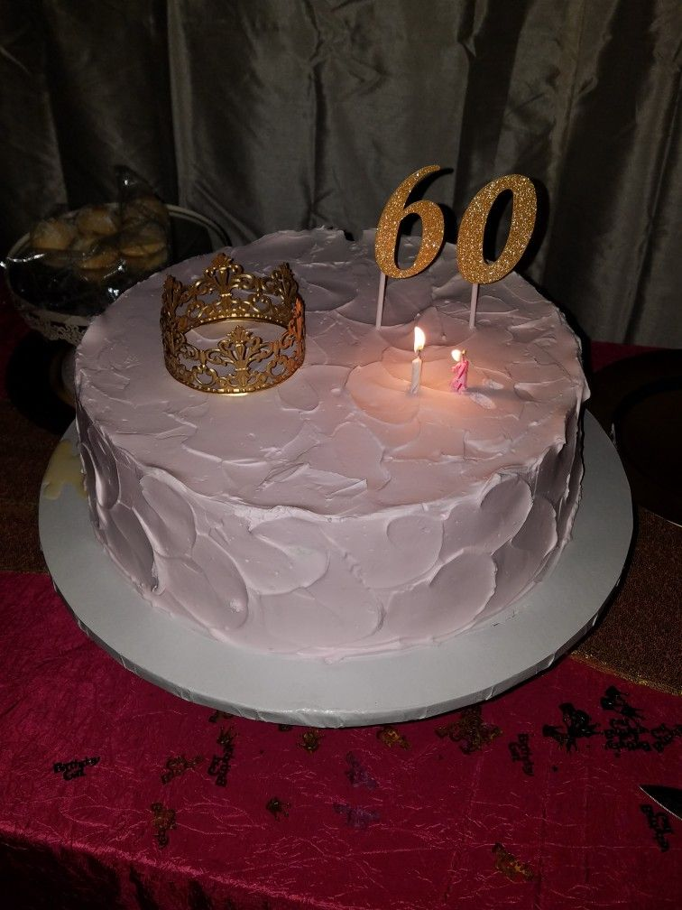 Mom's 60th birthday cake 60th birthday cakes, Cake, Mom 60th