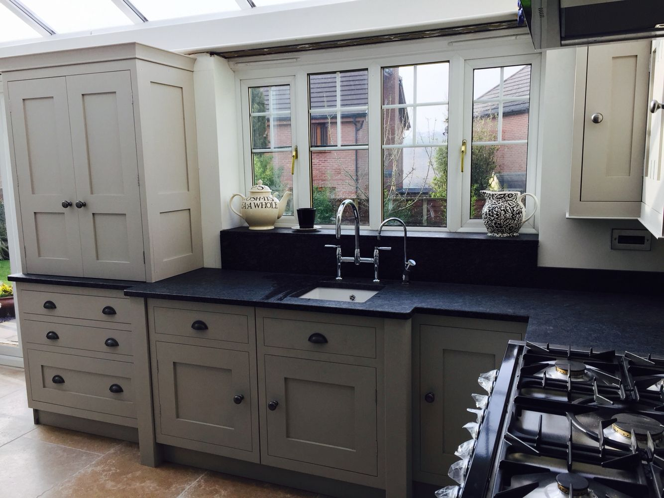 Best Hand Panted Kitchen Farrow And Ball Purbeck Stone Farrow 400 x 300